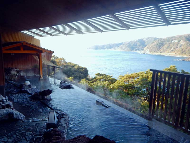 IGT View from onsen baths