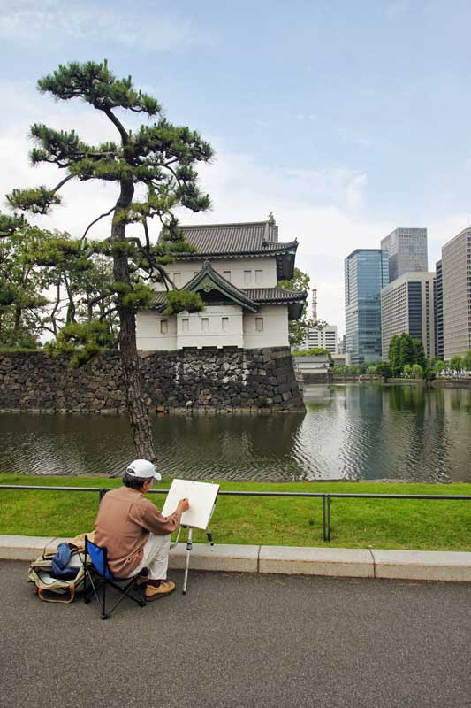 TT_10_Painter at Edo Castle