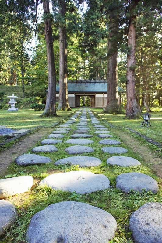 BT Haguro san path