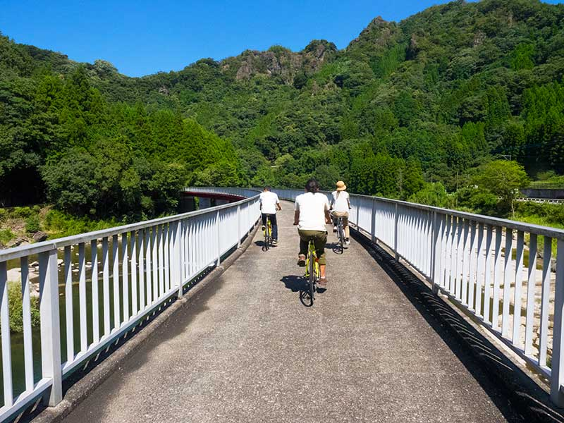 OHT_Yabakei_bike_bridge