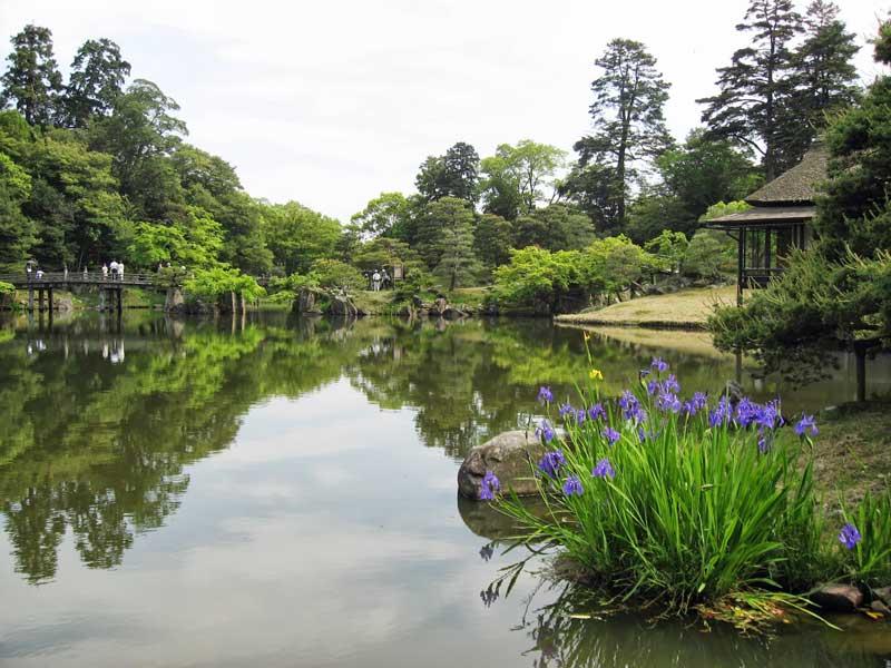 NW Hikone Castle gardens