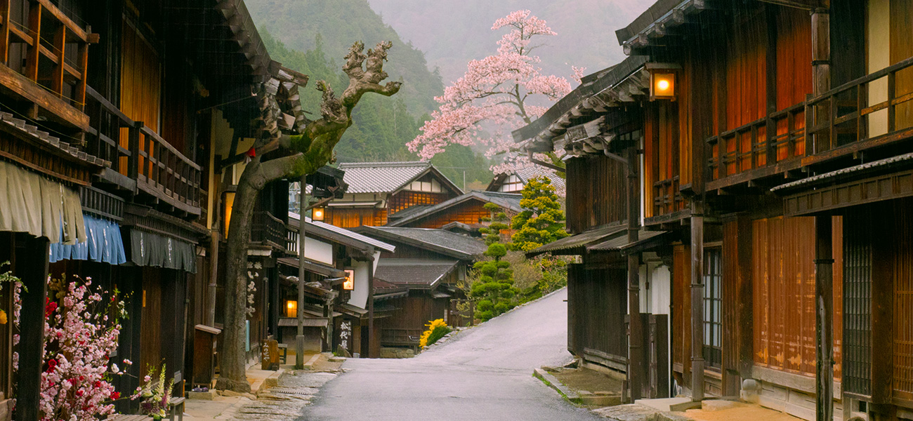 Self-Guided Nakasendo Wayfarer Header Image